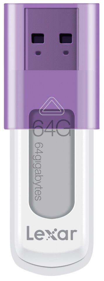 Lexar Speichermedien »JumpDrive USB 64GB S50« in weiß / violett