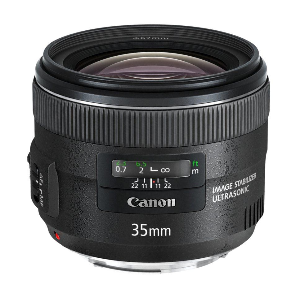 Canon SLR Objektive »EF 2,0/35 mm IS USM« in schwarz