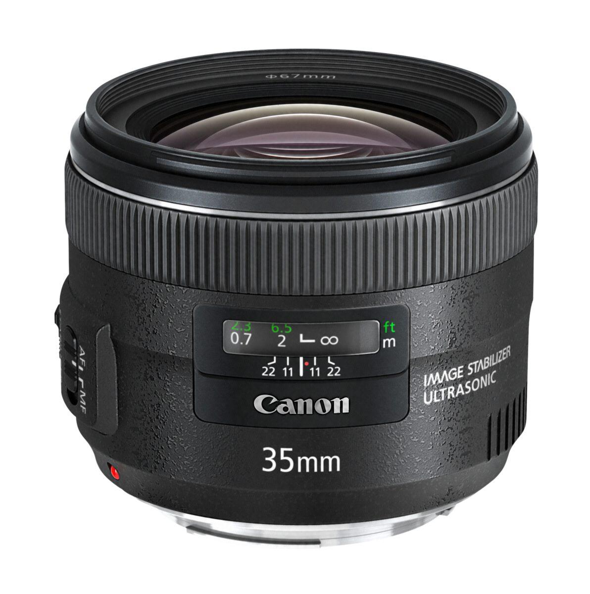 Canon SLR Objektive »EF 2,0/35 mm IS USM«