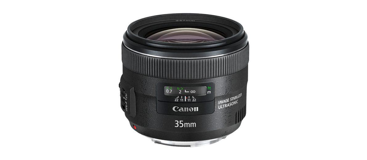 Canon Objektive »EF 2,0/35 mm IS USM«
