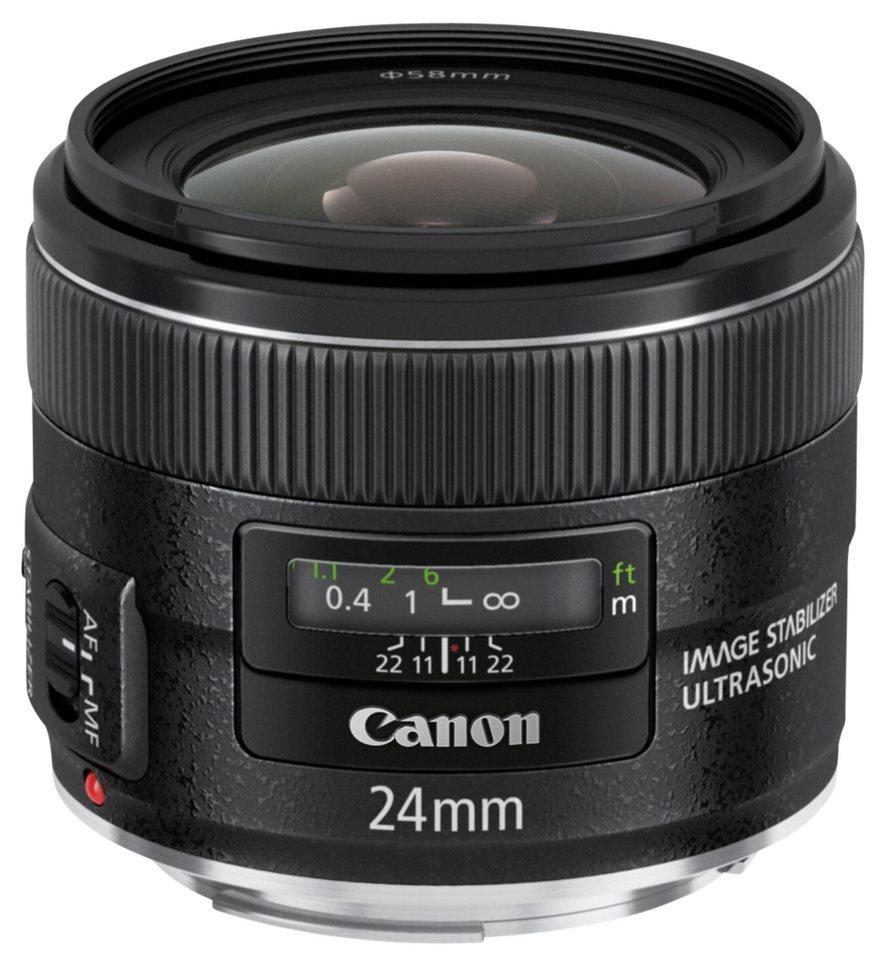 Canon Objektive »EF 2,8/24 mm IS USM« in schwarz