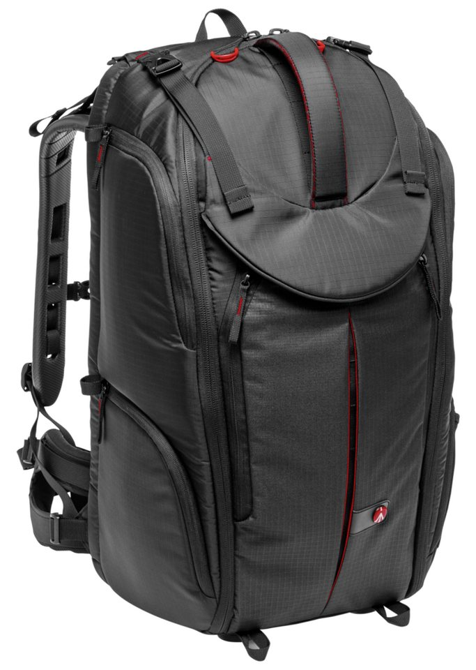 Manfrotto Fototasche »Pro Light Video Rucksack Pro-V-610 PL« in schwarz / rot