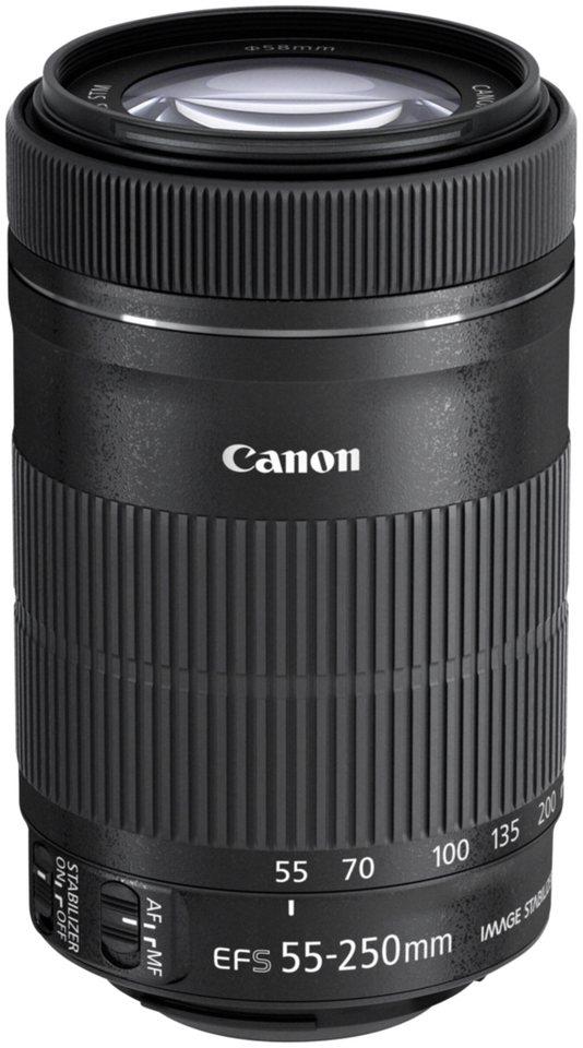 Canon Objektive »EF-S 4,0-5,6/55-250 IS STM« in schwarz