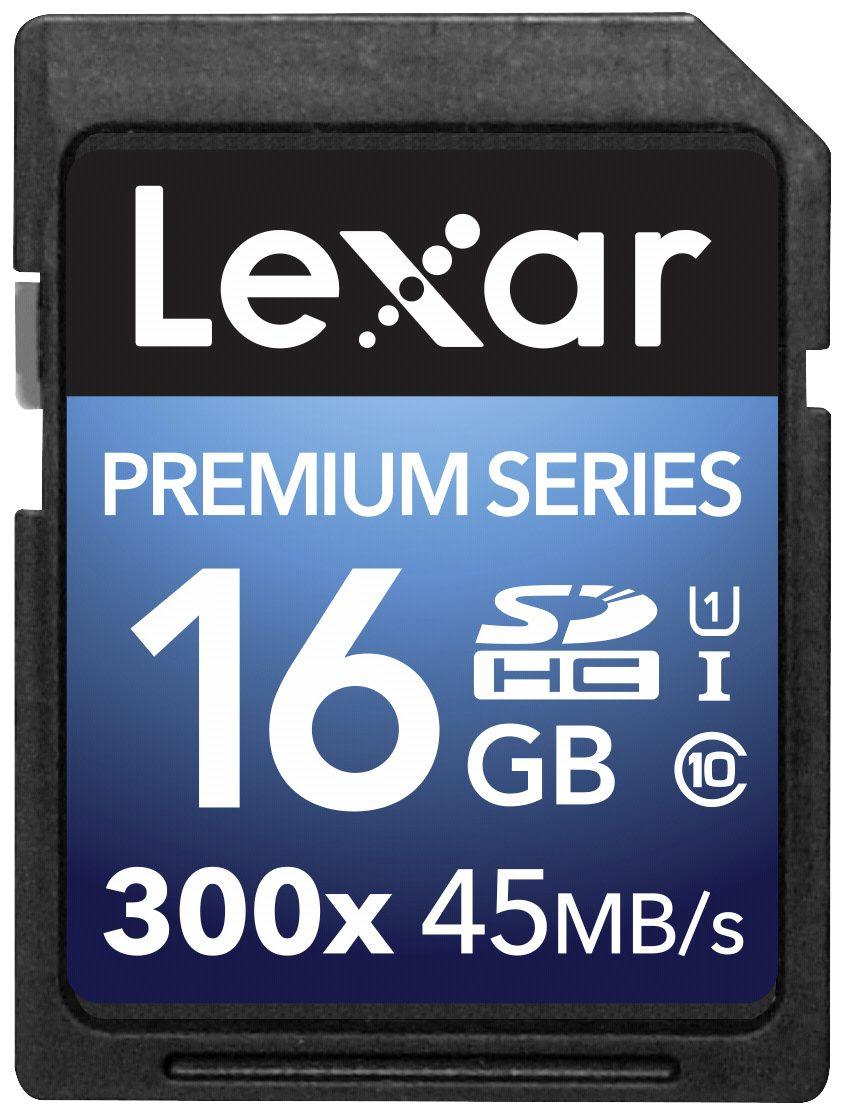 Lexar Speicherkarten »SDHC Card 16GB 300x Premium II Class 10 UHS-I«