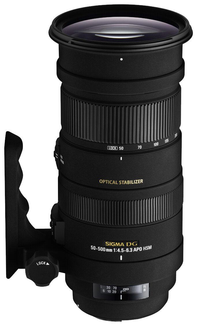 Sigma SLR Objektive »4,5-6,3/50-500 OS DG N/AF APO HSM«