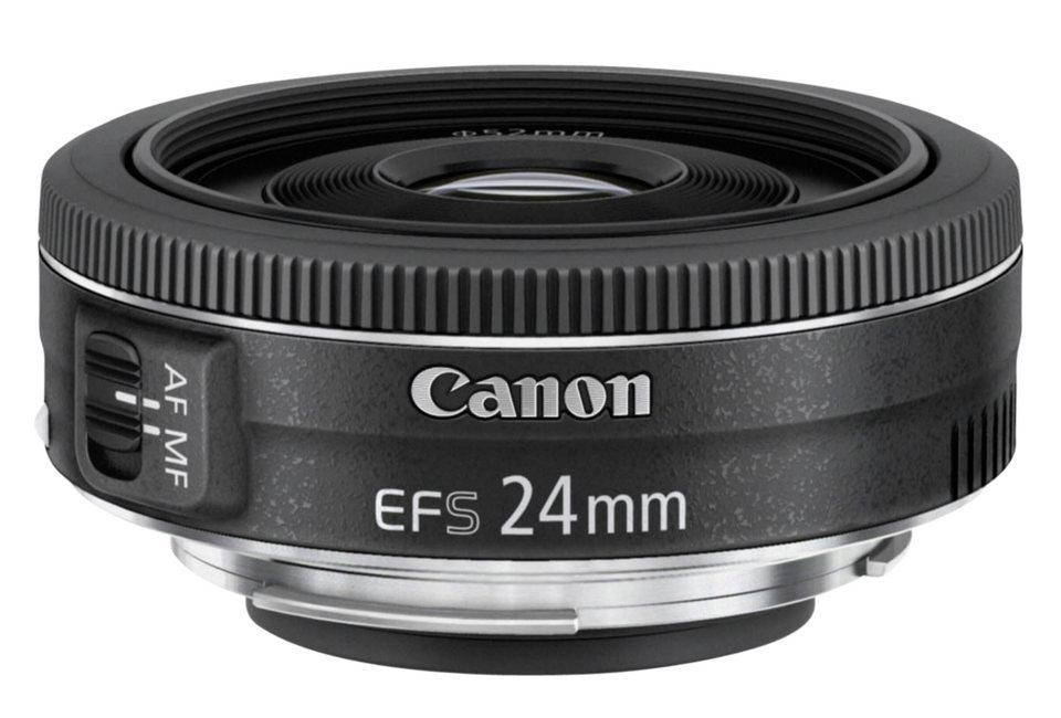 Canon SLR Objektive »EF-S 2,8/24 STM« in schwarz