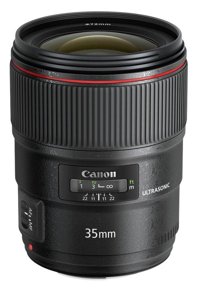 Canon Objektive »EF 1,4/35 L USM II« in schwarz