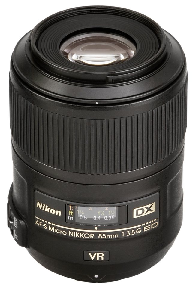 Nikon Objektive »AF-S 3,5/85 DX VR ED Micro« in schwarz