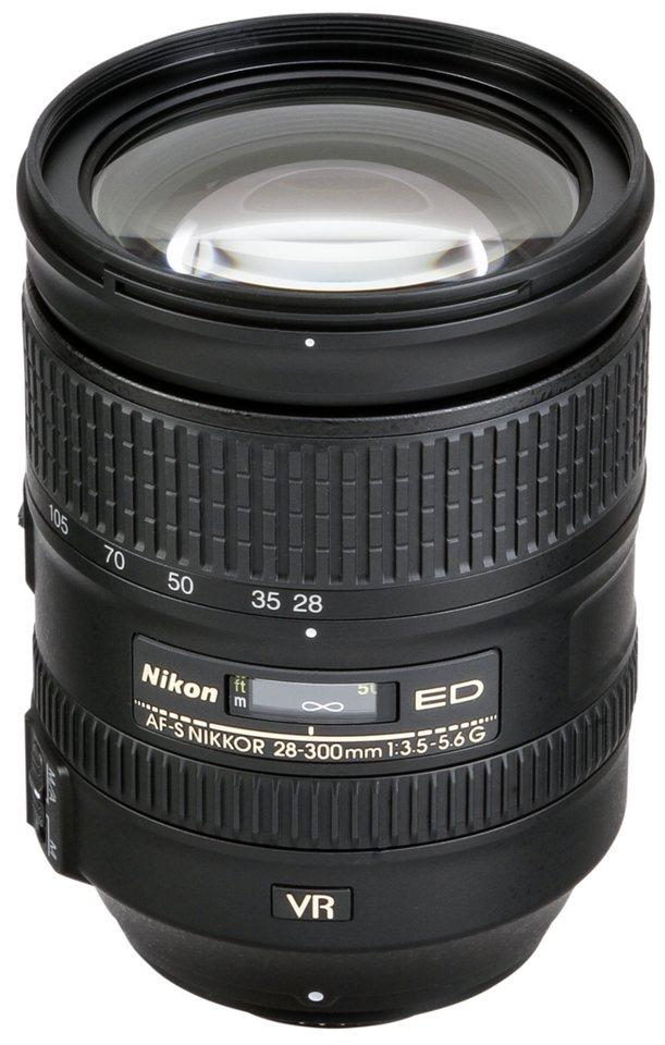 Nikon Objektive »AF-S 3,5-5,6/28-300 G ED VR« in schwarz