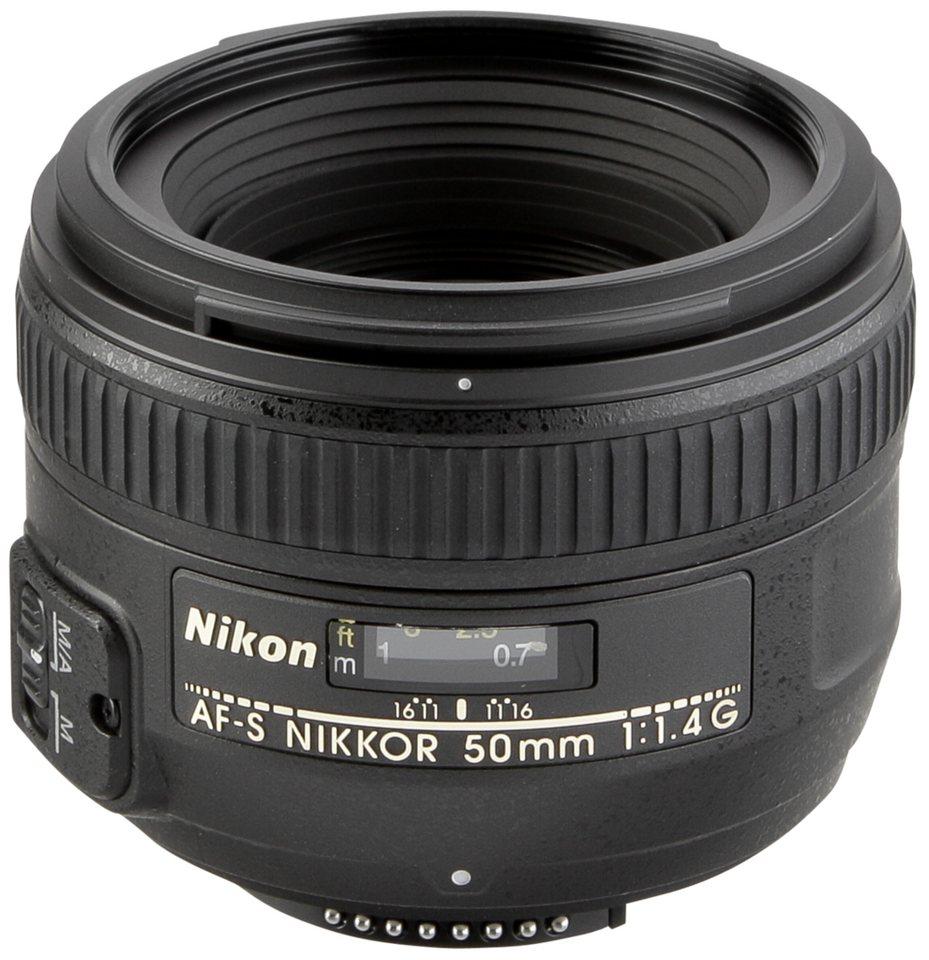 Nikon SLR Objektive »AF-S 1,4/50 G« in schwarz
