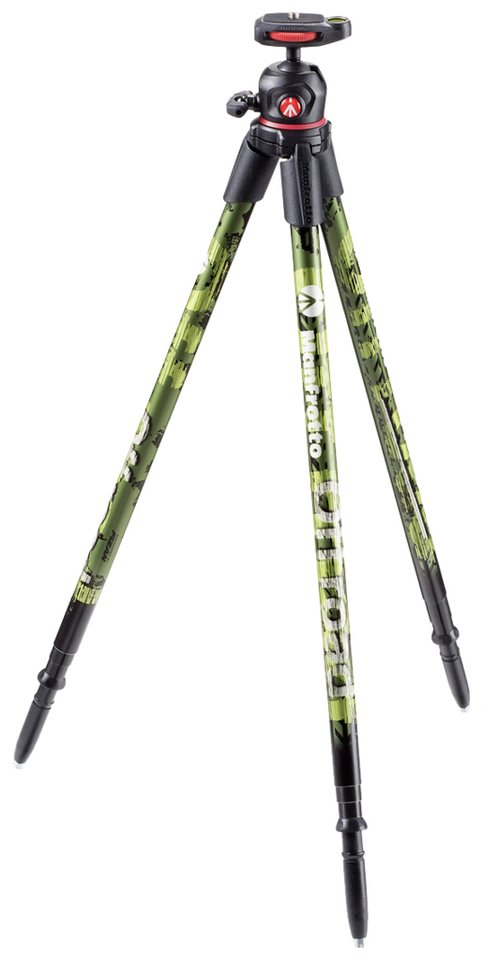 Manfrotto Foto Equipment »Off road Stativ« in schwarz / grün