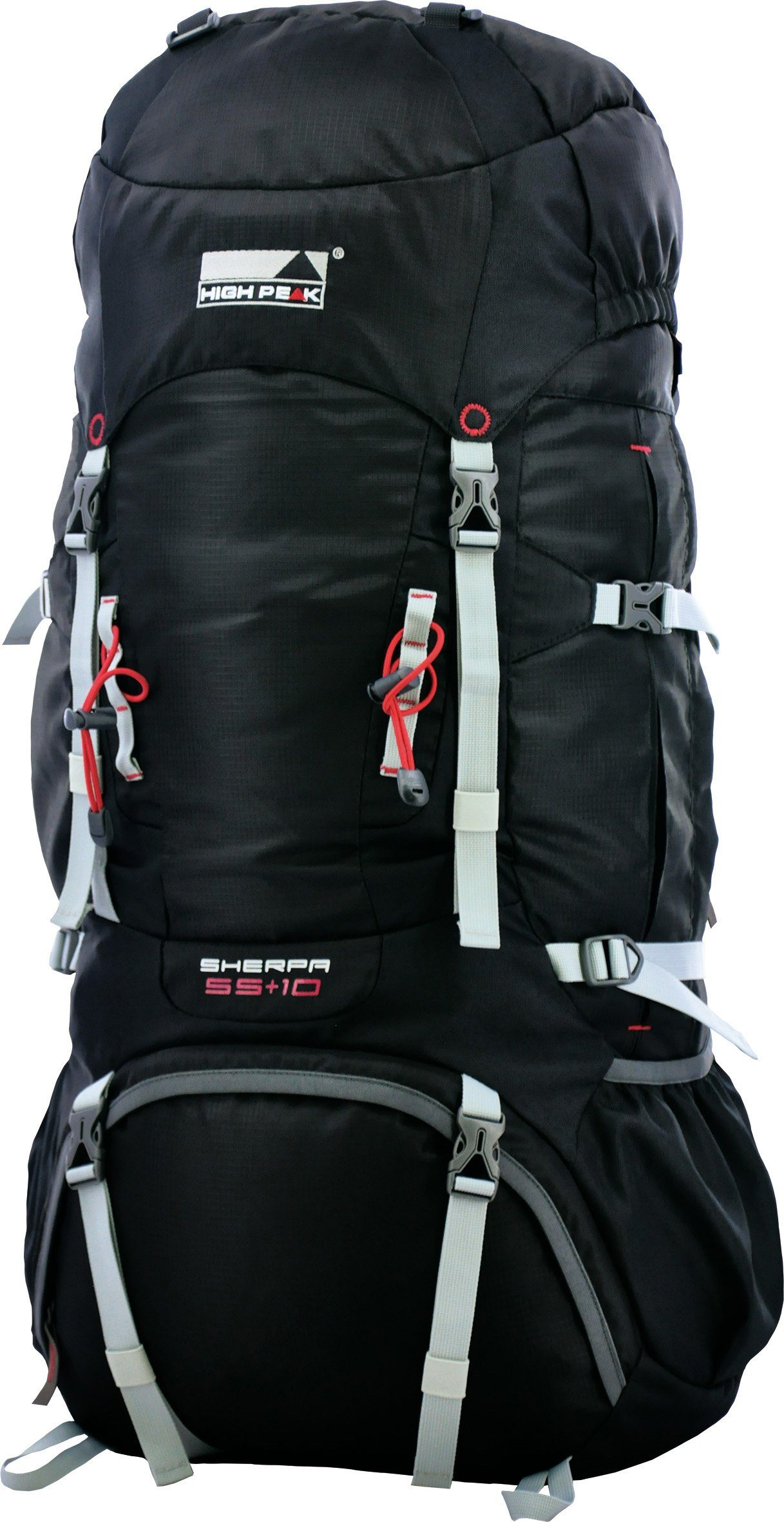 High Peak Tourenrucksack, »Sherpa 55+10«