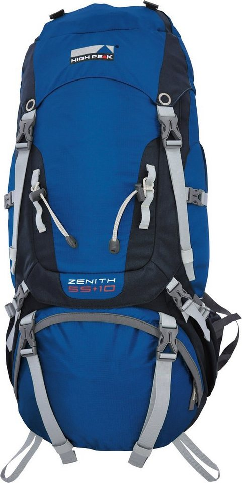 High Peak Tourenrucksack, »Zenith 55+10« in blau