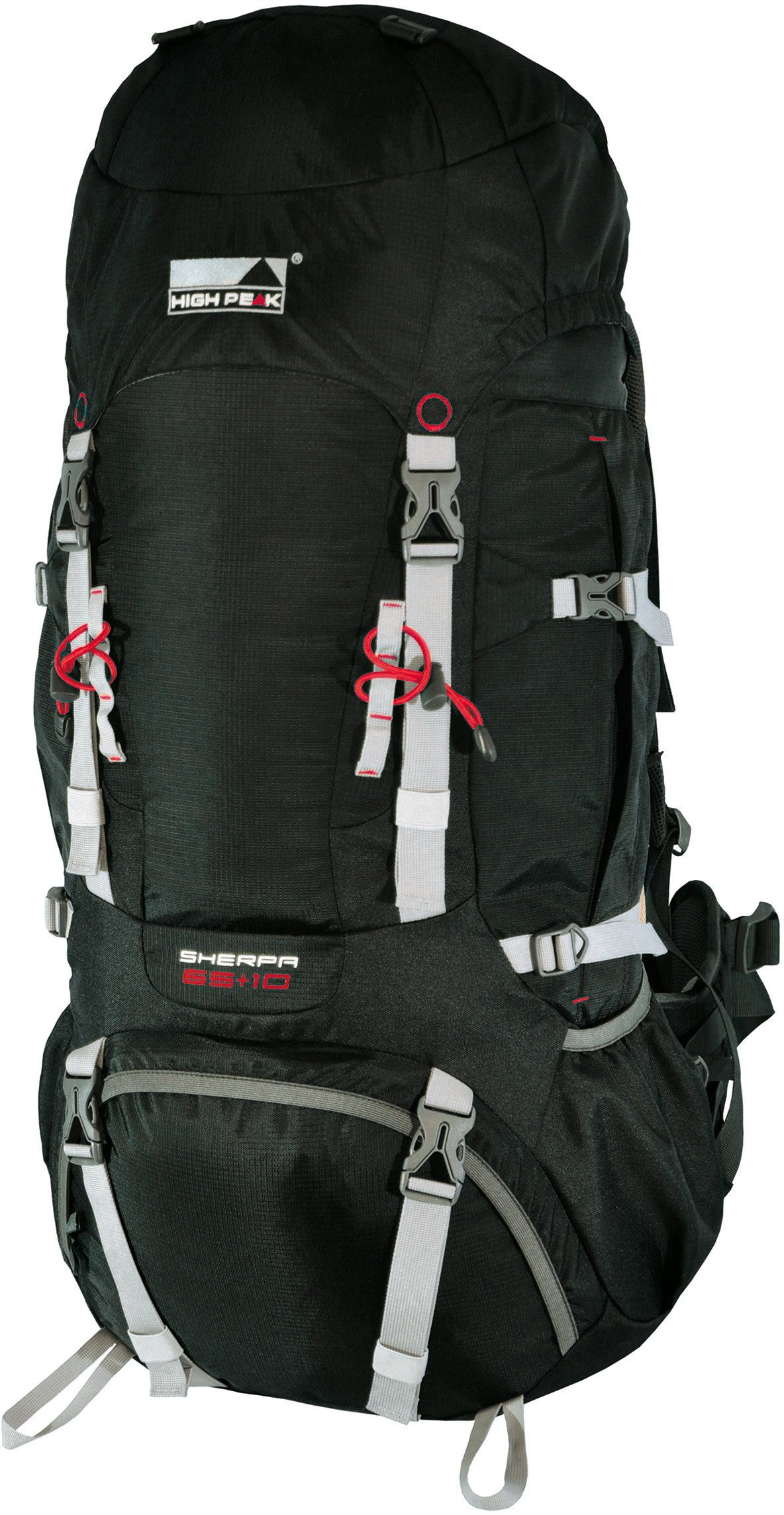 High Peak Tourenrucksack, »Sherpa 65+10«