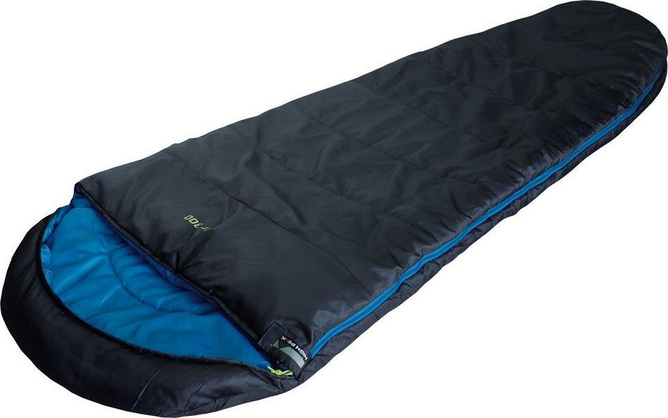 High Peak Mumienschlafsack, »TR 300« in anthrazit-blau