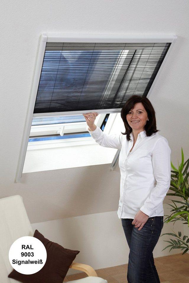 culex insektenschutz rollo dachfenster plissee wei in 2 gr en online kaufen otto. Black Bedroom Furniture Sets. Home Design Ideas