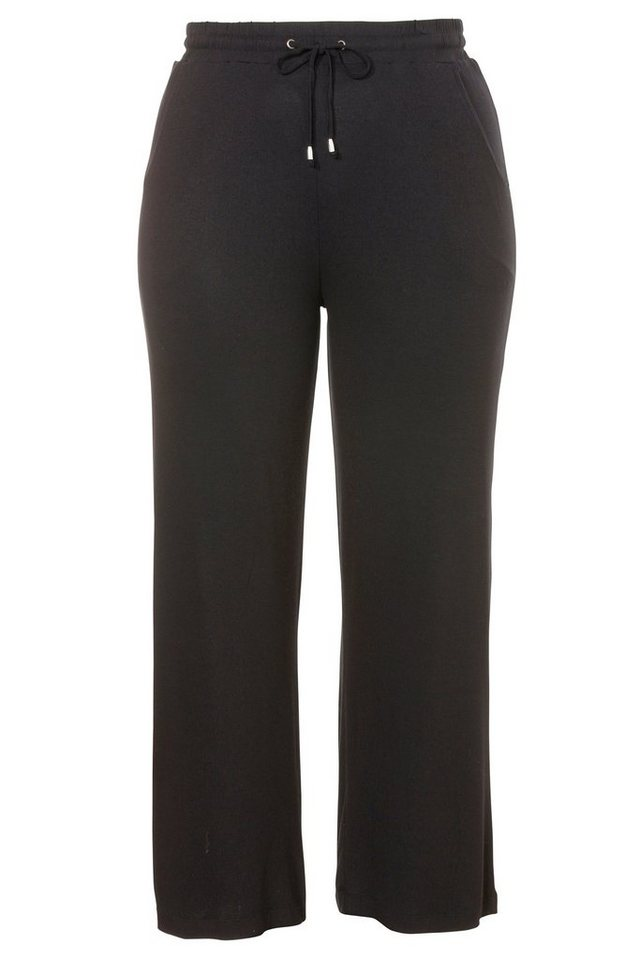 VIA APPIA DUE Leichte Jersey-Hose »Easy Chic« in schwarz