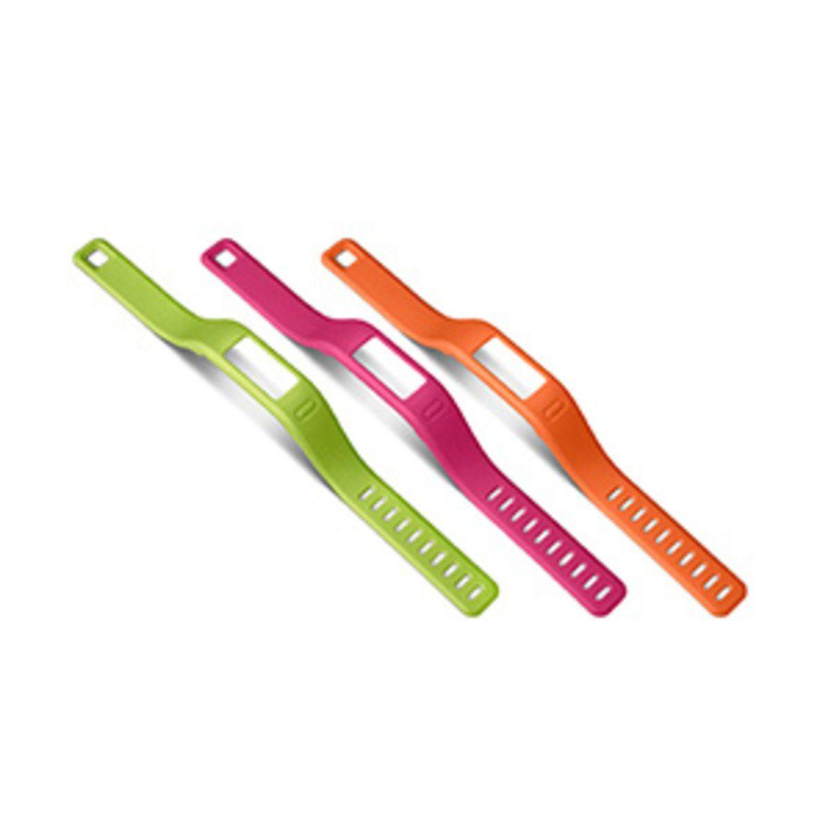 Garmin Ersatzarmbänder »vivofit , lila, grün (groß)«