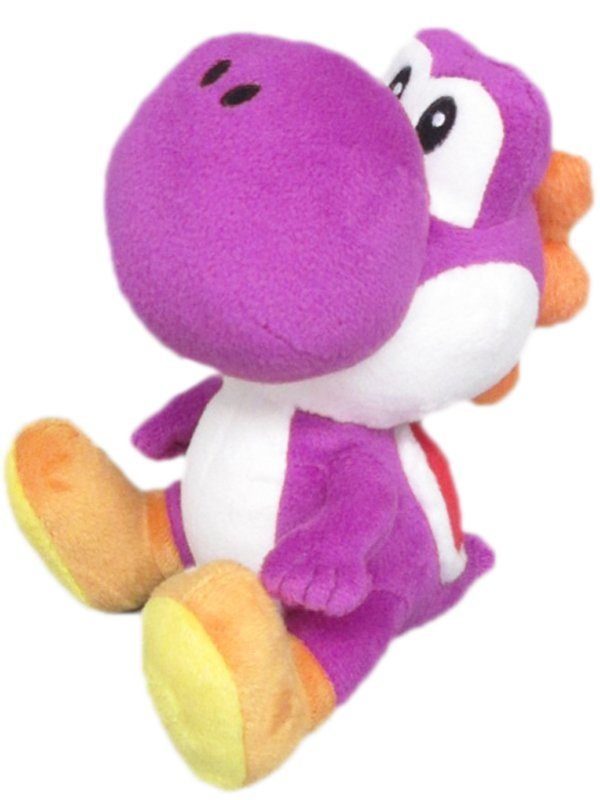 Together+ Fanartikel »Nintendo Plüschfigur Yoshi lila (17cm)«