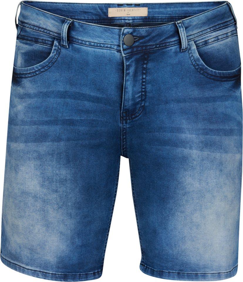 Zizzi Shorts in Blue denim