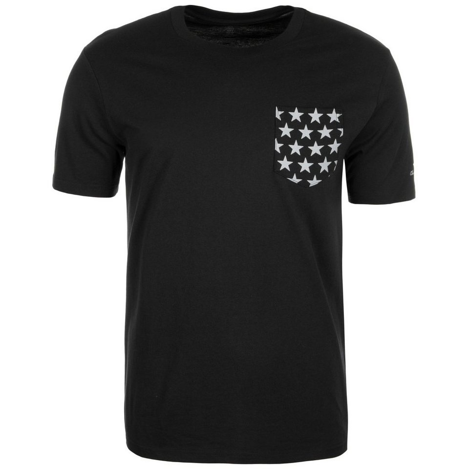 CONVERSE Chuck Taylor All Star II Reflective Star T-Shirt Herren in schwarz / silber