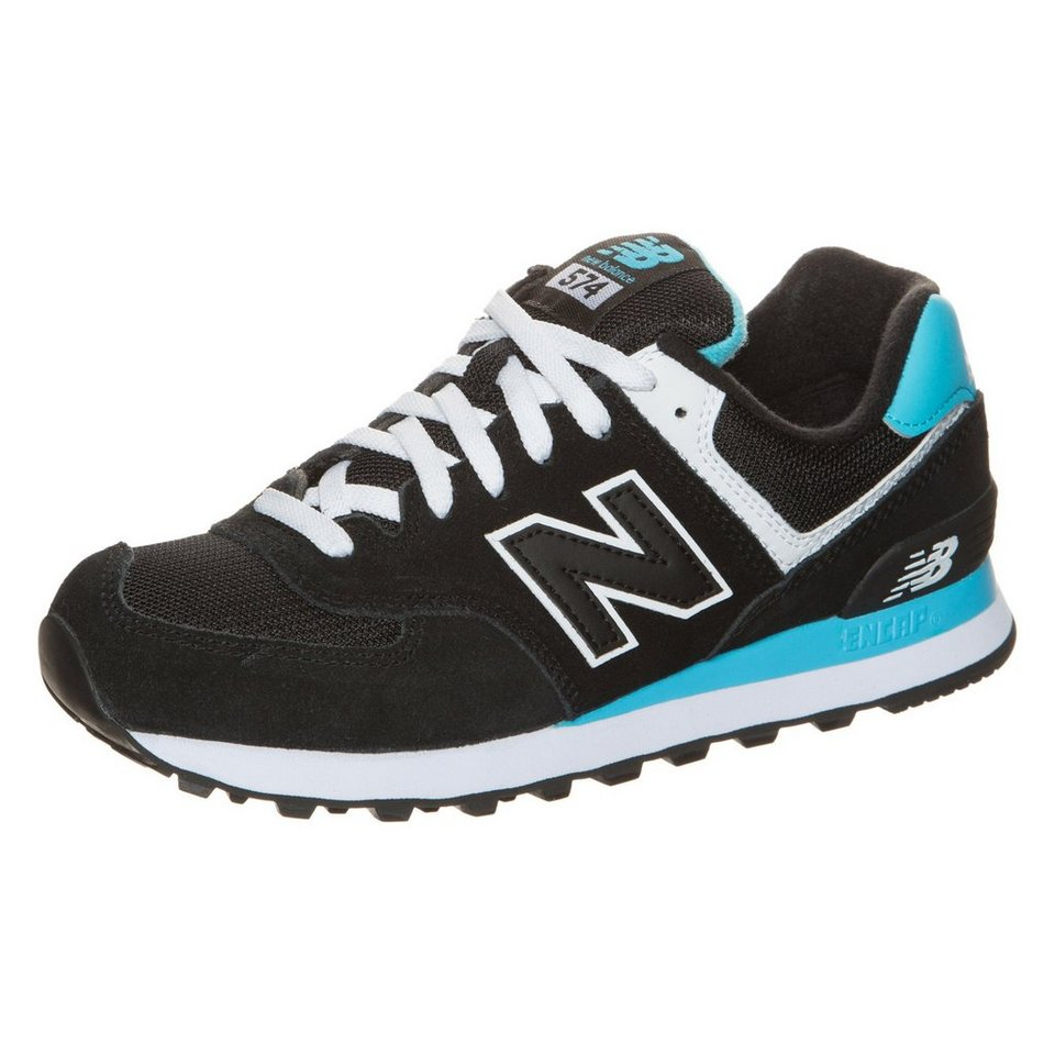 NEW BALANCE WL574-CPA-B Sneaker Damen in schwarz / hellblau