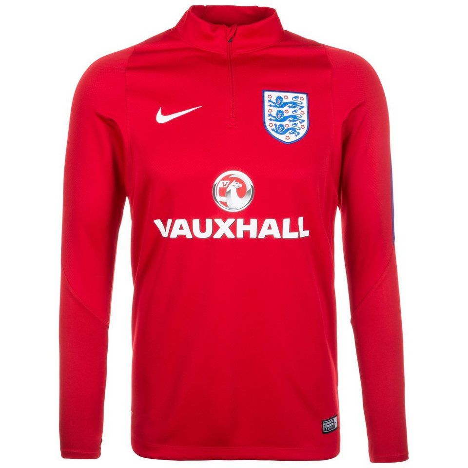 NIKE England Drill EM 2016 Trainingsshirt Herren in rot / blau / weiß