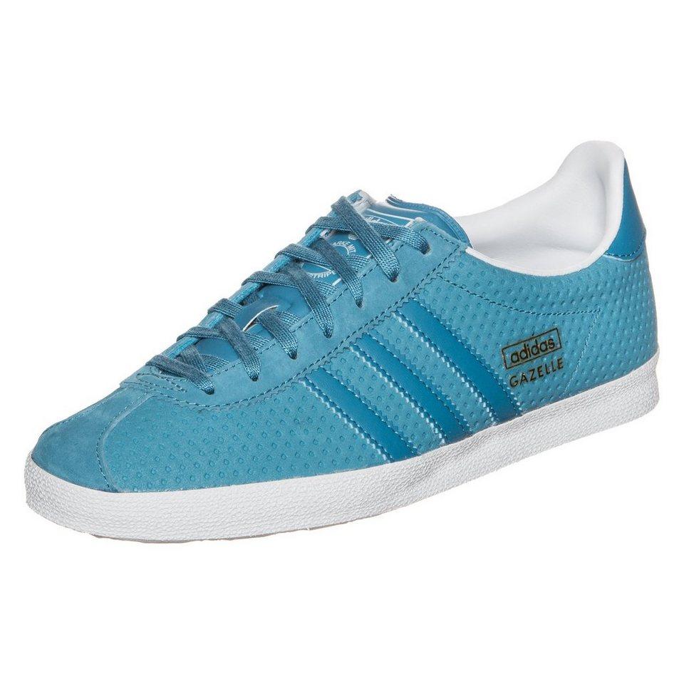 adidas Originals Gazelle OG Sneaker Damen in hellblau / weiß