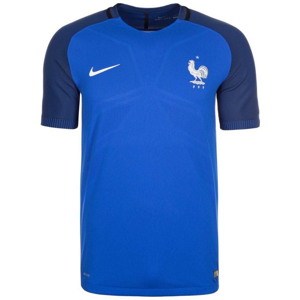 NIKE Frankreich Vapor Match Trikot Home EM 2016 Herren in blau / dunkelblau