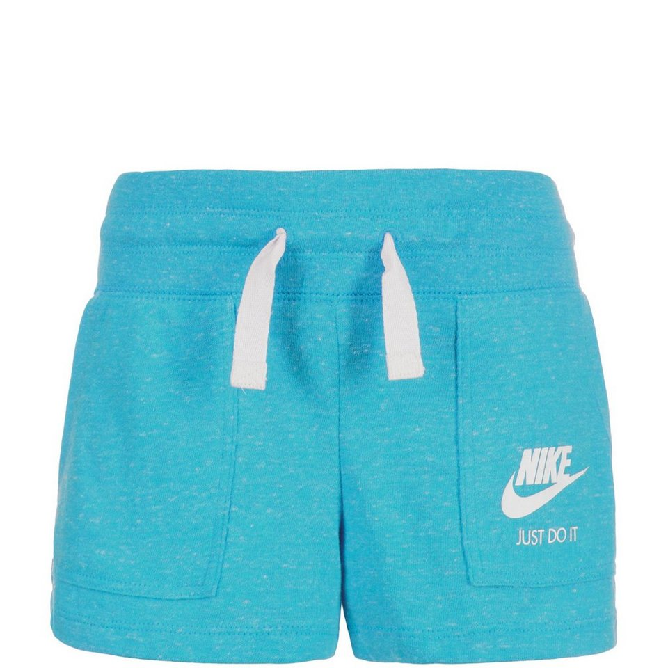 NIKE Gym Vintage Trainingsshort Kinder in hellblau
