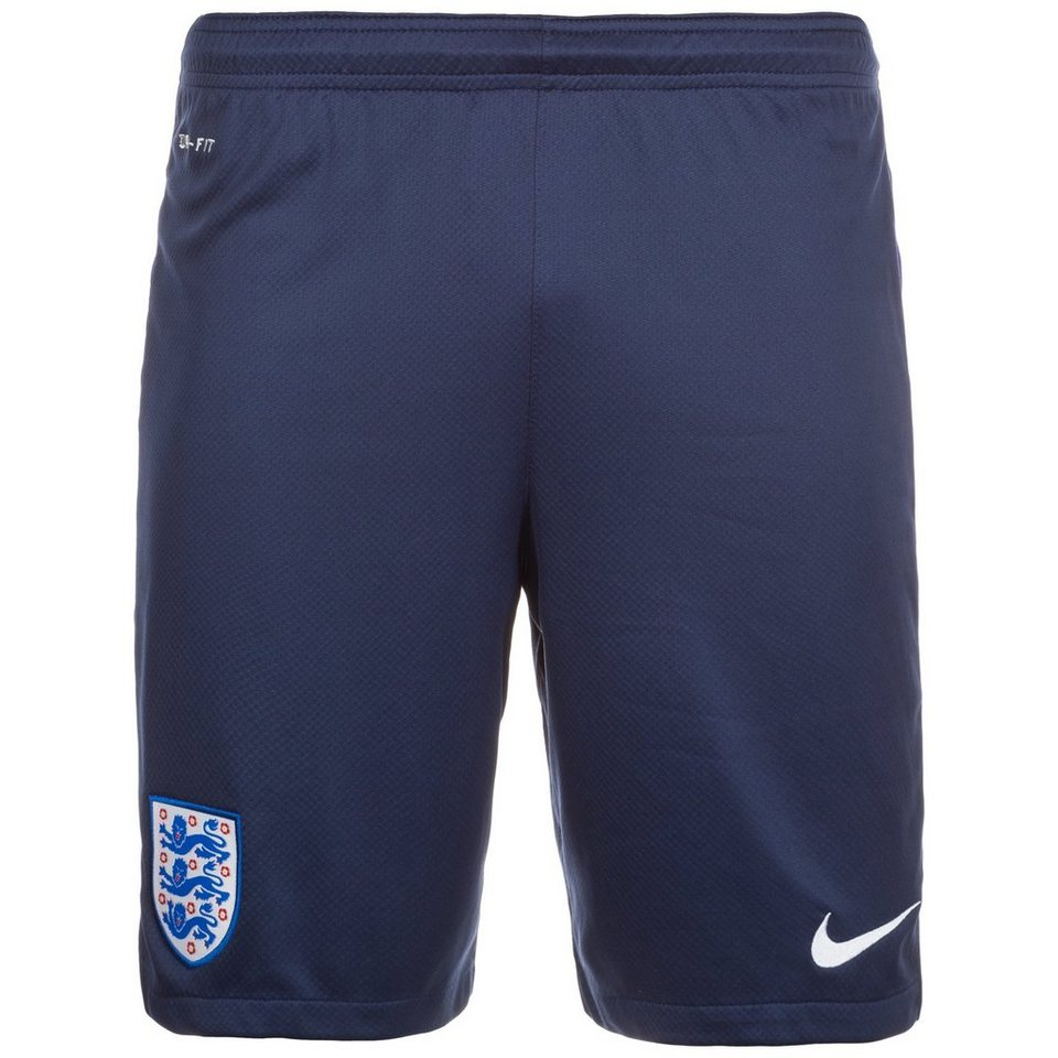 NIKE England Strike Trainingsshort EM 2016 Herren in dunkelblau / blau