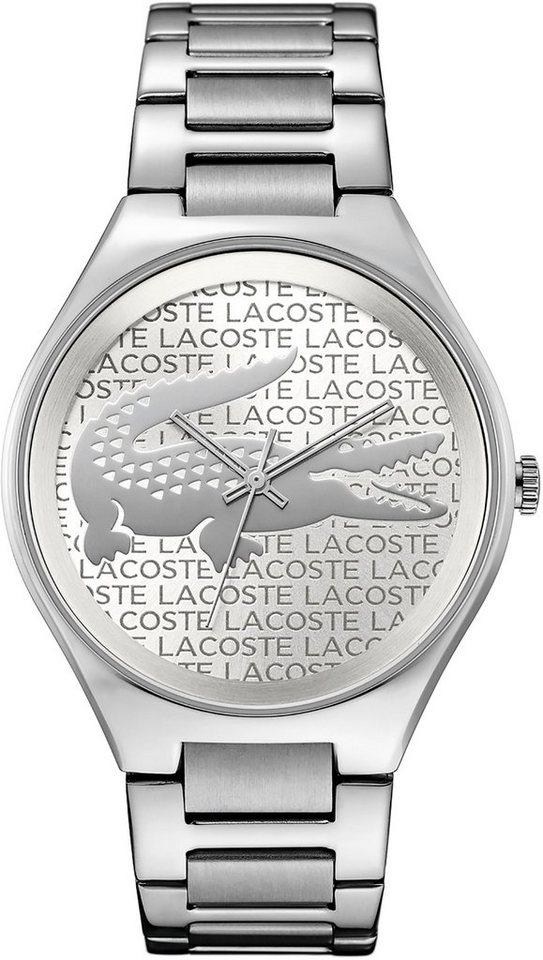 Lacoste Quarzuhr »VALENCIA, 2000931« in silberfarben