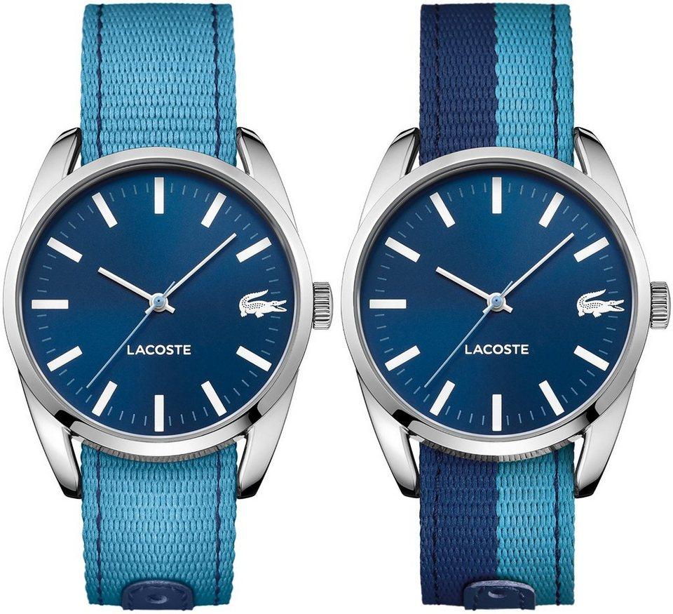 Lacoste Armbanduhr, »MALAGA, 2000925« in blau