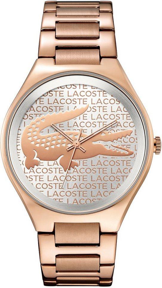 Lacoste Armbanduhr, »VALENCIA, 2000929« in roségoldfarben