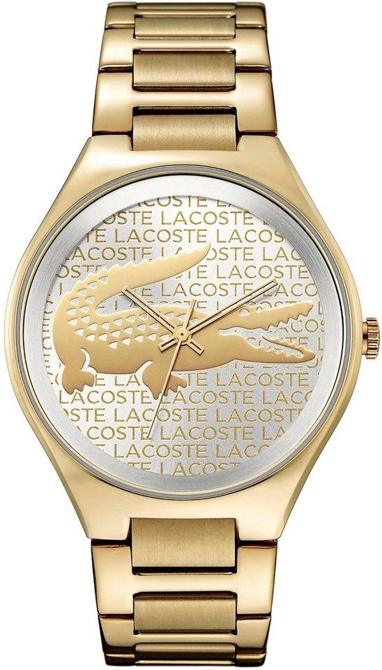 Lacoste Quarzuhr »VALENCIA, 2000930« in goldfarben