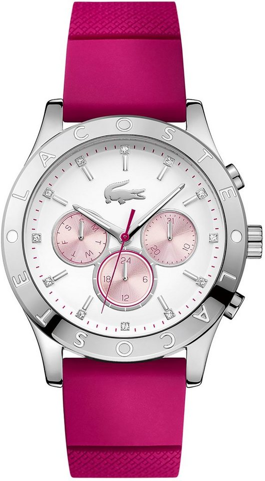 Lacoste Multifunktionsuhr »CHARLOTTE, 2000941« in pink