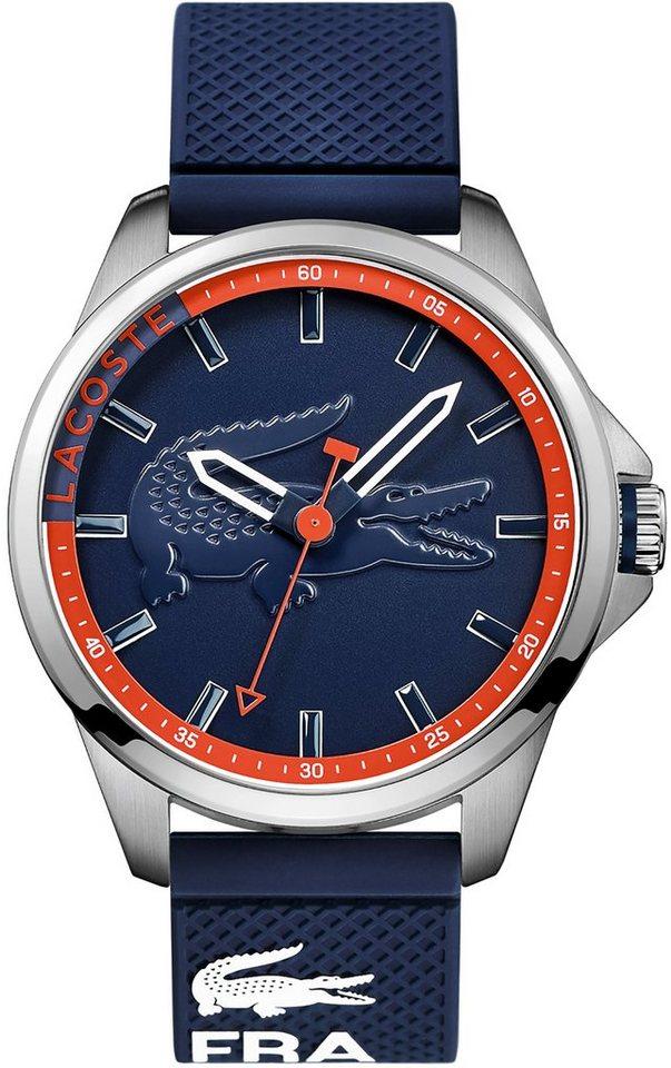 Lacoste Armbanduhr, »CAPBRETON, 2010842« in blau