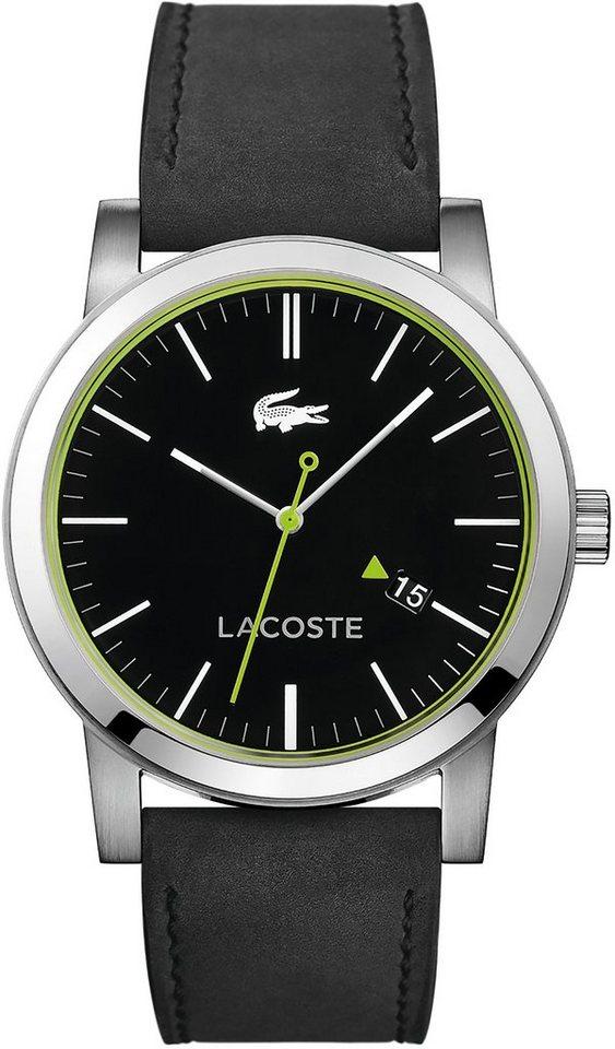 Lacoste Armbanduhr, »METRO, 2010847« in schwarz
