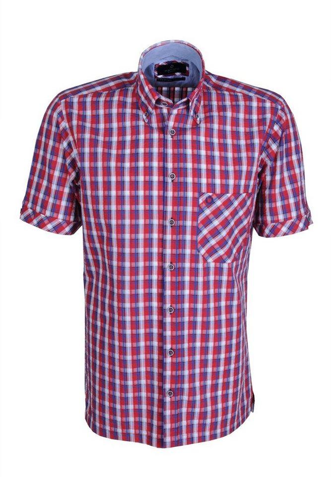 Hatico Sportives Hemd in rot