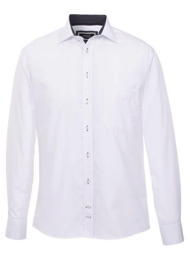 Hatico Businesshemd in weiß
