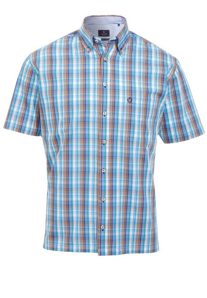 Hatico Chices Casual Hemd in blau