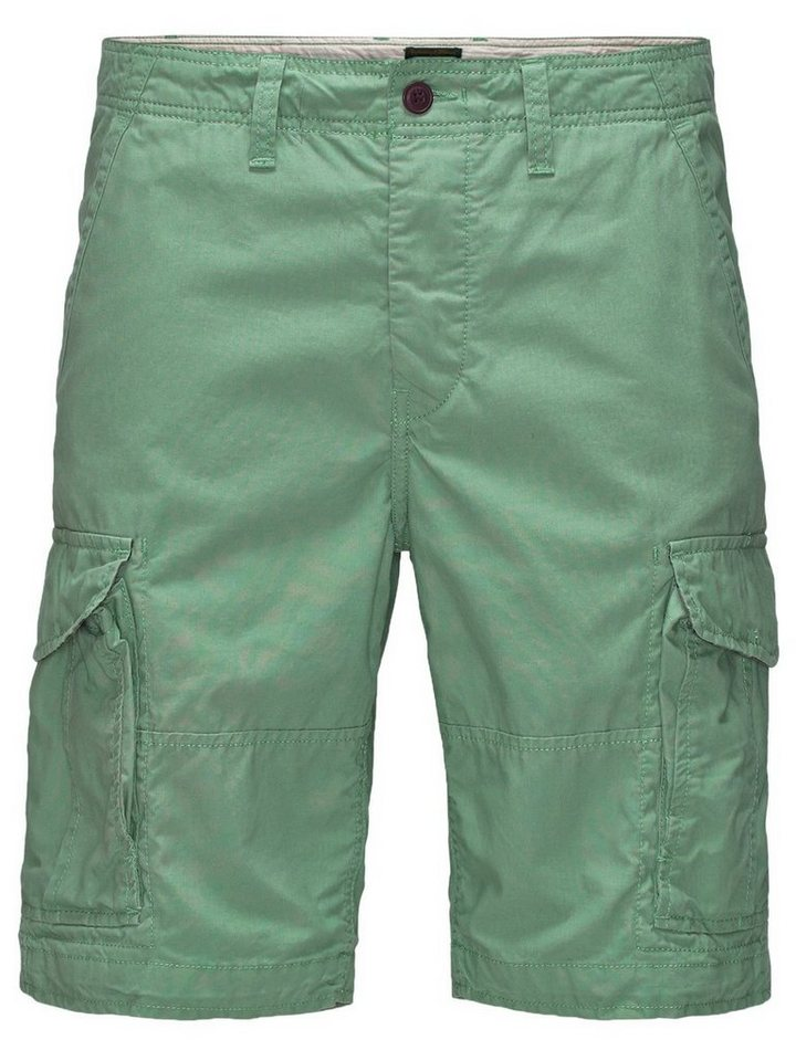 Jack & Jones Preston AKM 216 Cargoshorts in Granite Green