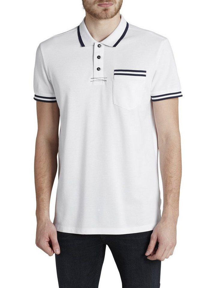 Jack & Jones Sport-inspiriertes T-Shirt in White