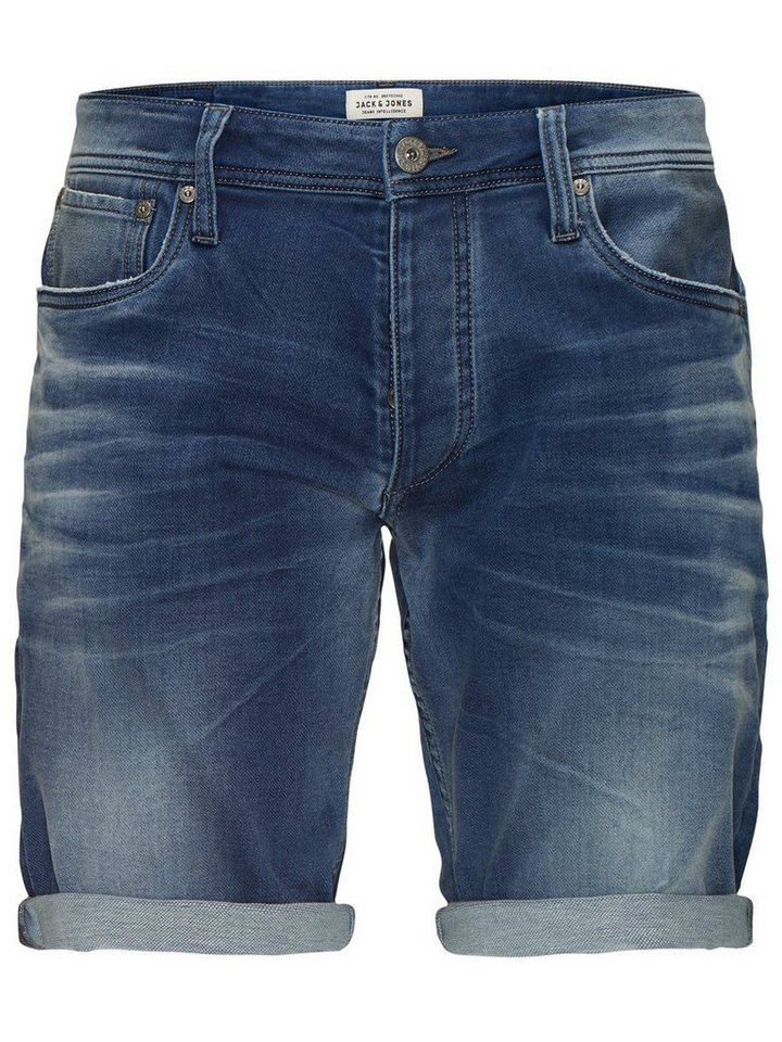 Jack & Jones Rick Original AKM 565 Shorts in Blue Denim