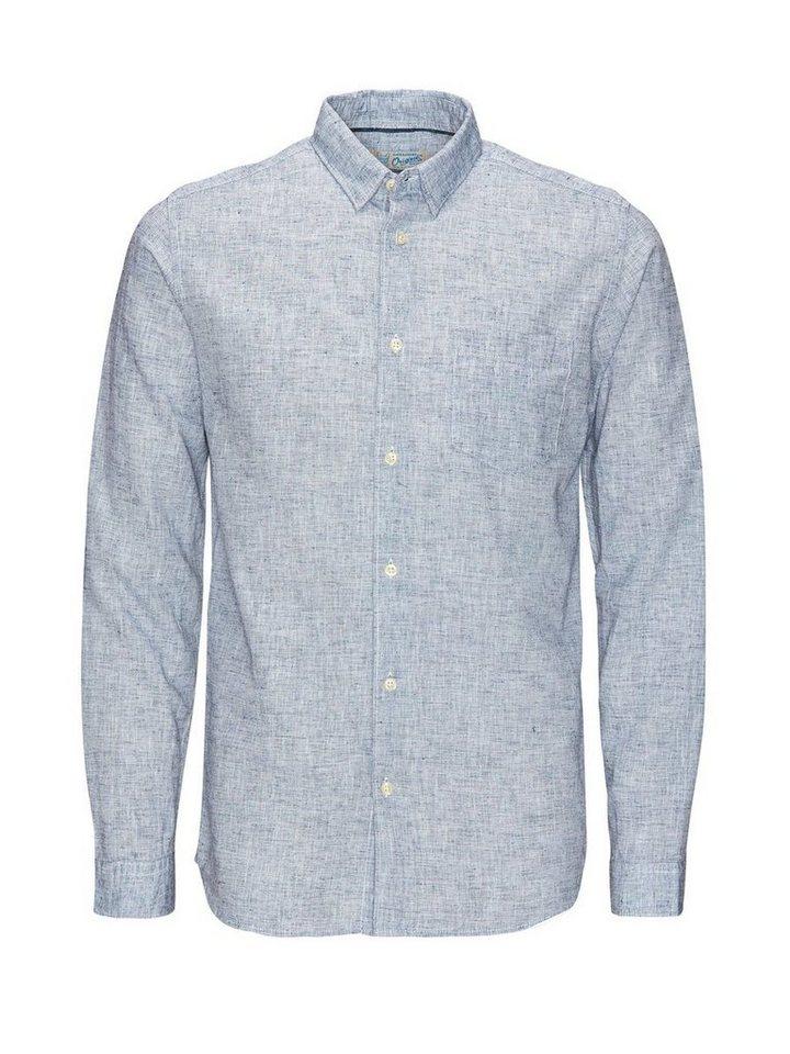 Jack & Jones Ein-Taschen- Freizeithemd in Navy Blazer