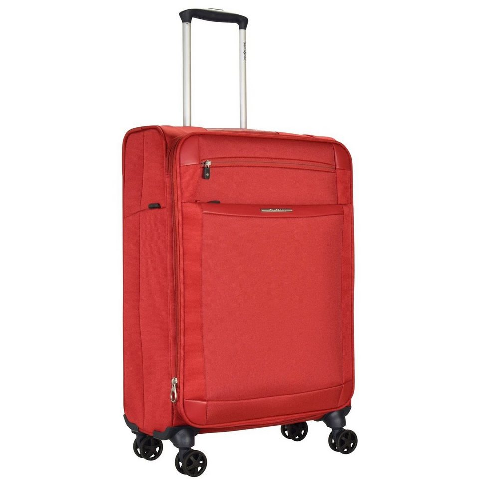 Samsonite Dynamo Spinner 4-Rollen Trolley 67 cm in red