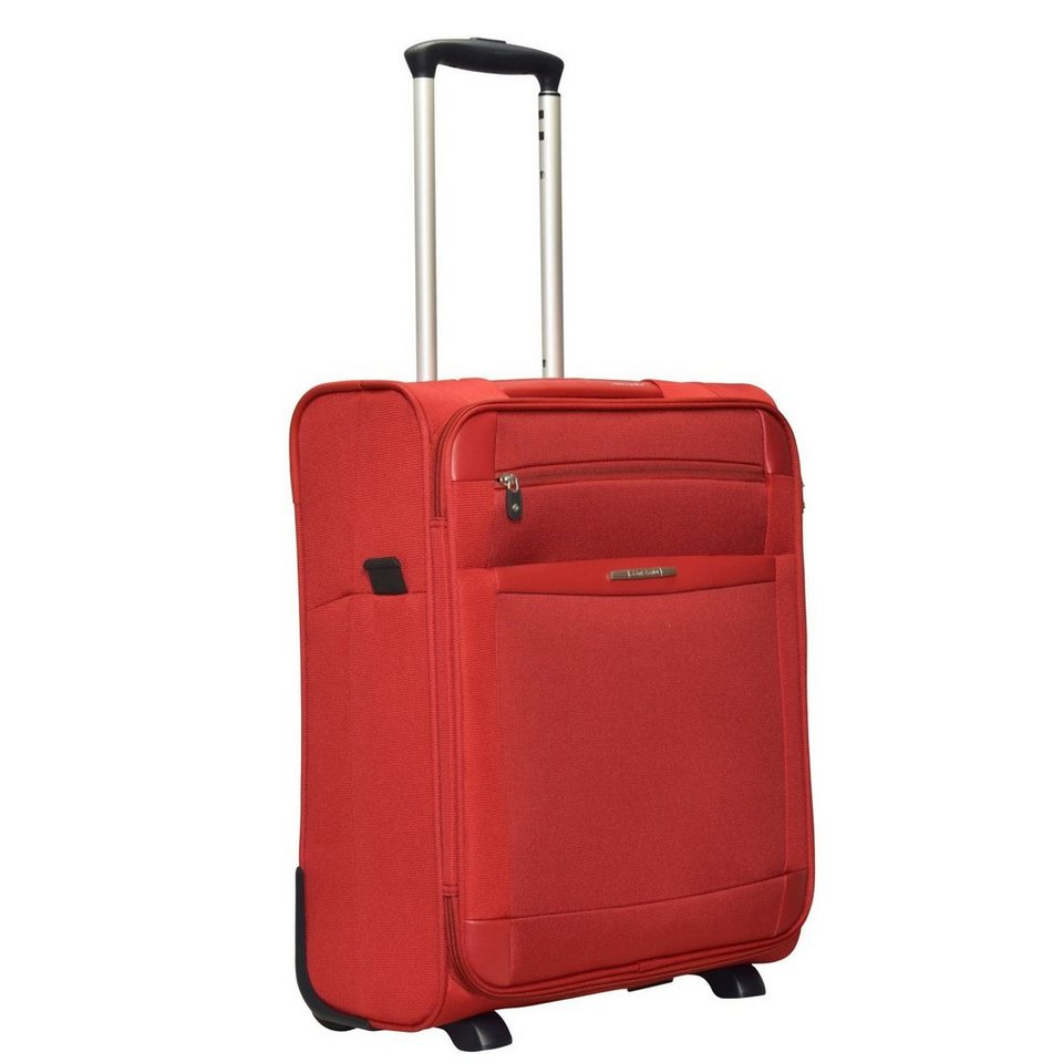 Samsonite Dynamo Upright 2-Rollen Kabinen Trolley 55 cm in red