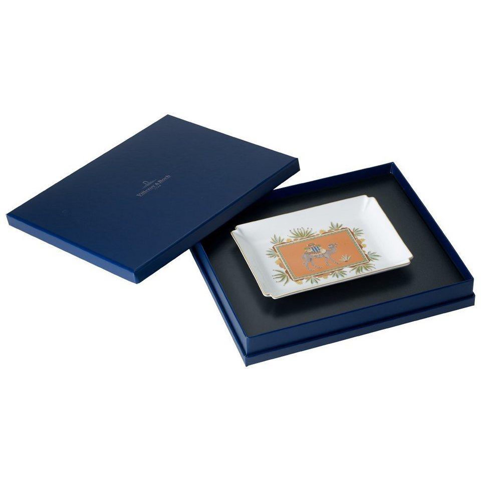 VILLEROY & BOCH Dekoschale 17x13cm »Samarkand Mandarin Gifts« in Dekoriert