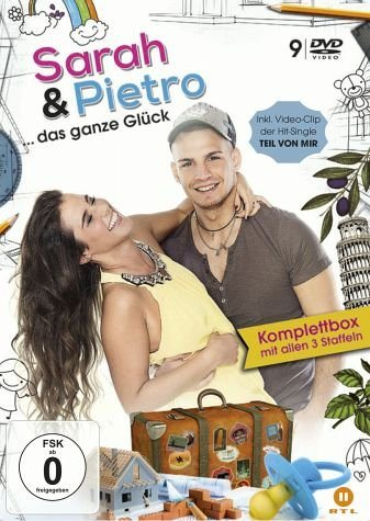 DVD »Sarah & Pietro... das ganze Glück (9 Discs)«