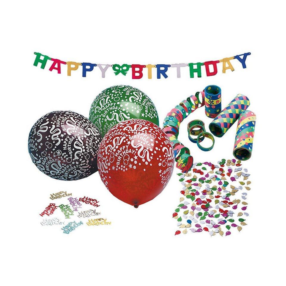 Happy People Partysetdekoset Happy Birthday